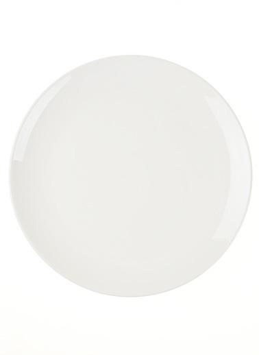 Morhipo Home Pure Servis Tabağı 6'lı Set - 26cm Beyaz